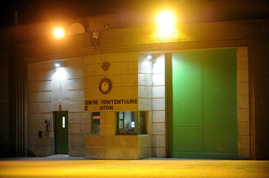 Suicide d'un détenu à la prisond'Aiton