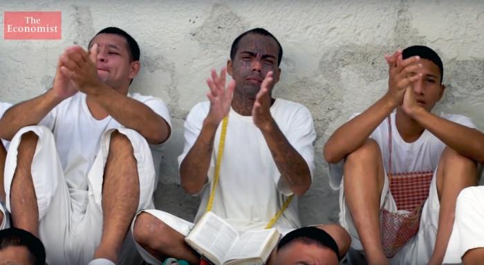 Une prison se tourne vers Christ auSalvador